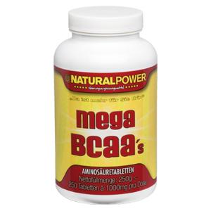 Natural Power Mega BCAA Review